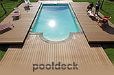 Pooldeck - Deck covers. Aesthetically pleasing and increased security. Automatic or manual opening.