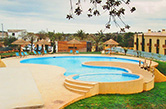 Silves, Alcantarilha, 2006 - Free shape swimming pools for adults and children