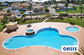 Praia da Galé, Albufeira, 2000 - Adults swimming pool, children swimming pool and jacuzzi