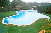 Vale do Lobo, 1992 - Swimming pool with adults area, children area and hydro massage