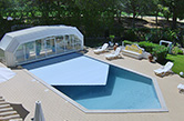 Vilamoura, 2005 - Outdoor swimming pool with an automatic floating cover, heating and hydro massage system