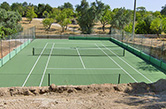 Luz de Tavira, 2009 - Private tennis court