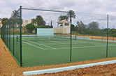Albufeira, Guia, 2009 - Private tennis court