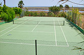 Fuseta, Parque Natural da Ria Formosa, 1993 - Private tennis court