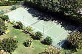 Hotel Olympus - Vilamoura, 1989 - Private tennis court