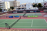 Faro, 1993 - Tennis Center in Gambelas