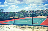 Albufeira, 1988 - Private tennis court