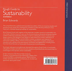 Rough Guide to Sustainability - contracapa